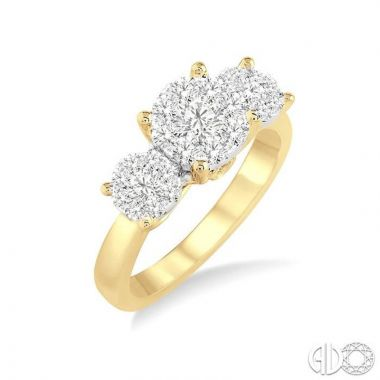 Ashi Diamonds 14k Two-Tone Gold Lovebright Collection Diamond Ring - 36923DJFVYW