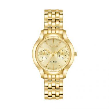 Citizen Yellow Stainless Steel Watch