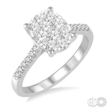 Ashi Diamonds 14k White Gold Lovebright Collection Diamond Ring - 149C2DJFVWG
