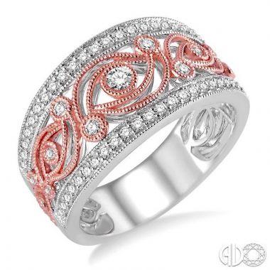 Ashi Diamonds 14k Two-Tone Gold Diamond Ring - 34643DJFNWP