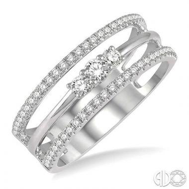 Ashi Diamonds 14k White Gold Diamond Ring - 368A4DJFHWG