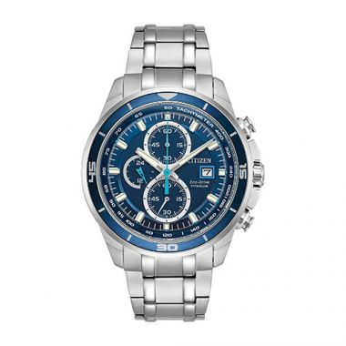 Citizen White Stainless Steel Watch
