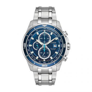 Citizen White Stainless Steel Watch
