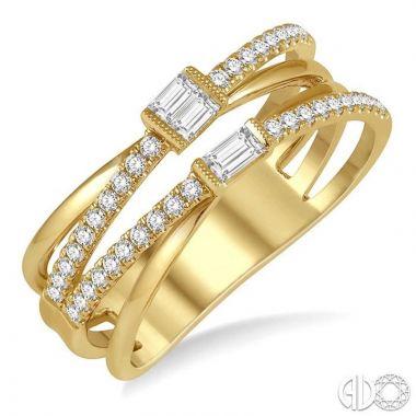 Ashi Diamonds 14k Yellow Gold Diamond Ring - 372A4DJFHYG