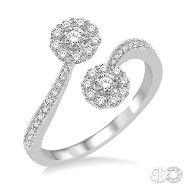 Ashi Diamonds 14k White Gold Diamond Ring - 443A3DJFHWG