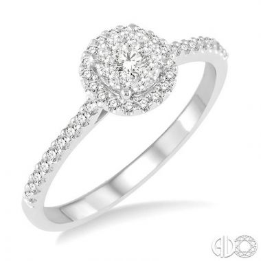 Ashi Diamonds 14k White Gold Lovebright Collection Diamond Ring - 13295DJFVWG