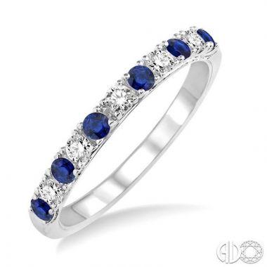 Ashi Diamonds 14k White Gold Diamond & Gemstone Ring - 32847DJFHSPWG