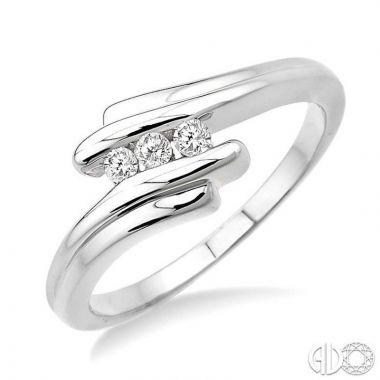 Ashi Diamonds Sterling Silver Stones Collection Diamond Ring - 86168DJSXSLRG