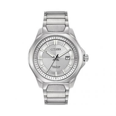 Citizen White Titanium Watch