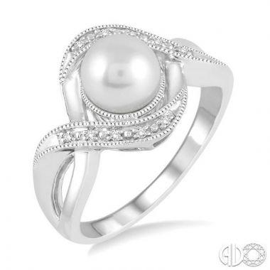 Ashi Diamonds Sterling Silver Diamond & Gemstone Ring - 88489DJSSSLRG