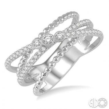 Ashi Diamonds 14k White Gold Diamond Ring - 379A5DJFHWG