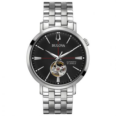 Bulova Aerojet White Stainless Steel Automatic Watch