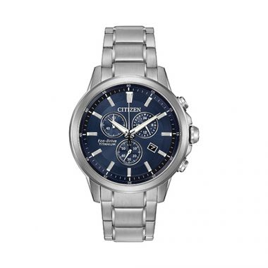 Citizen Blue Titanium Watch