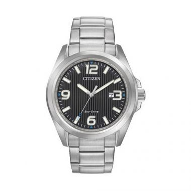 Citizen Black Stainless Steel Watch