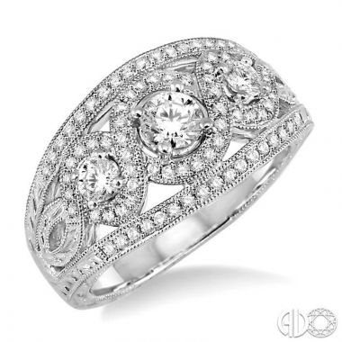 Ashi Diamonds 14k White Gold I Do Collection Diamond Ring - 21972DJFVWG-LE