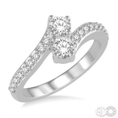 Ashi Diamonds 14k White Gold Diamond Ring - 441A3DJFHWG