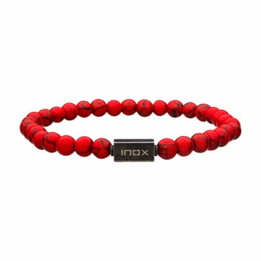 Inox Red Stainless Steel Bracelet