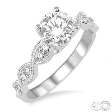 Ashi Diamonds 14k White Gold I Do Collection Diamond Ring - 28202DJFVWG-LE
