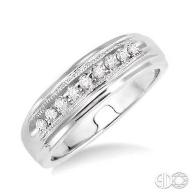 Ashi Diamonds 14k White Gold His & Hers Duos Diamond Ring - 39188DJFXLDWG