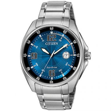Citizen Drive Blue Stainless Steel Bracelet Watch