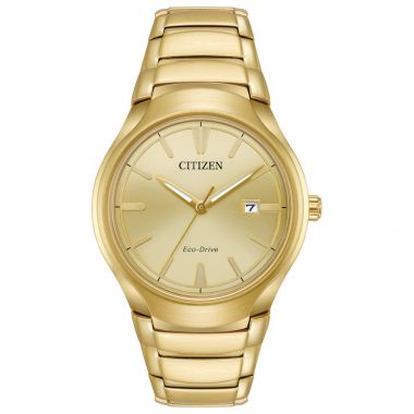 Citizen Paradigm Yellow Stainless Steel Bracelet Watch