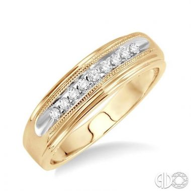 Ashi Diamonds 10k Yellow Gold His & Hers Duos Diamond Ring - 39188DJTXMNYG
