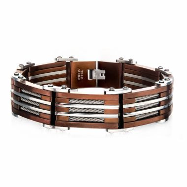 Inox Brown Stainless Steel Bracelet