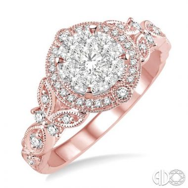 Ashi Diamonds 14k Two-Tone Gold Lovebright Collection Diamond Ring - 140A3DJFVPW
