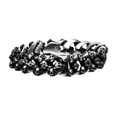 Inox Black Stainless Steel Bracelet