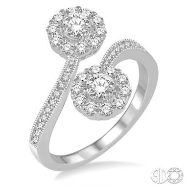 Ashi Diamonds 14k White Gold Diamond Ring - 443A1DJFHWG