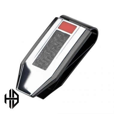 Inox Black Stainless Steel Money Clip