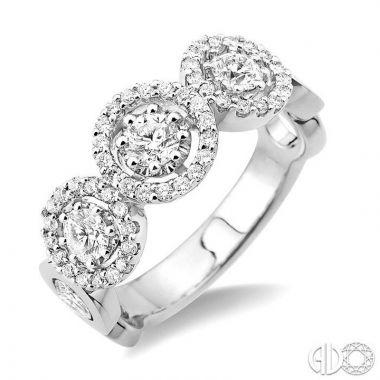 Ashi Diamonds 18k White Gold Diamond Ring - 32652DJERWG