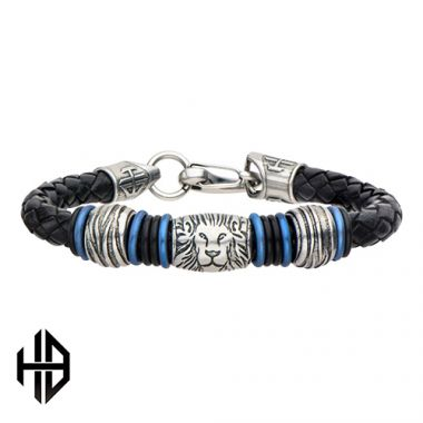 Inox Blue Stainless Steel Bracelet