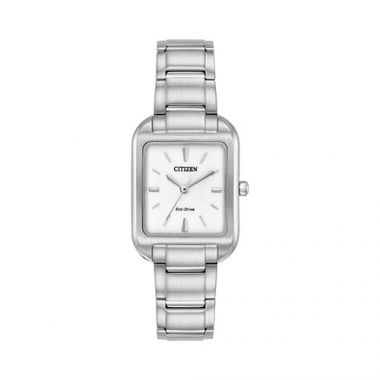 Citizen White Stainless Steel Bracelet Watch
