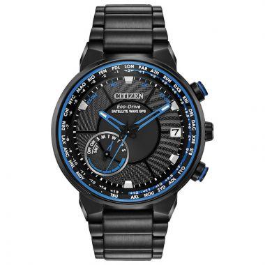 Citizen Satellite Black Stainless Steel Bracelet Watch
