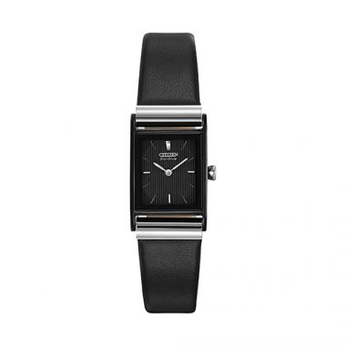 Citizen Black Stainless Steel Strap Watch