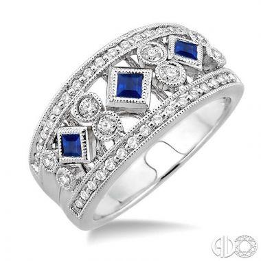 Ashi Diamonds 14k White Gold Diamond & Gemstone Ring - 37134DJFHSPWG