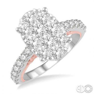 Ashi Diamonds 14k Two-Tone Gold Lovebright Collection Diamond Ring - 139E0DJFVWP-2.00