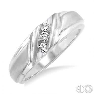 Ashi Diamonds 14k White Gold His & Hers Duos Diamond Ring - 39308DJFXLDWG