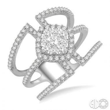 Ashi Diamonds 14k White Gold Lovebright Collection Diamond Ring - 372M1DJFVWG