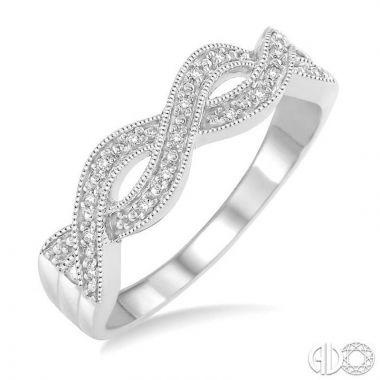 Ashi Diamonds Sterling Silver Stones Collection Diamond Ring - 86759DJSSSLRG