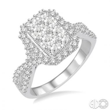 Ashi Diamonds 14k White Gold Lovebright Collection Diamond Ring - 122B2DJFVWG