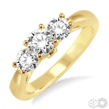 Ashi Diamonds 14k Yellow Gold Diamond Ring - 22391DJFVYG-LE