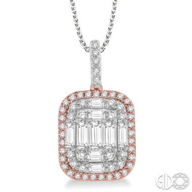 Ashi Diamonds 14k Two-Tone Gold Fushion Diamonds Collection Pendant - 930H1DJFVPDWP