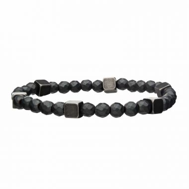 Inox Grey Stainless Steel Bracelet