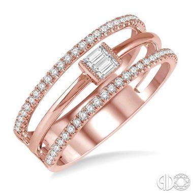 Ashi Diamonds 14k Rose Gold Diamond Ring - 370A5DJFHPG