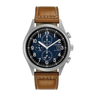 Citizen White Stainless Steel Strap Watch
