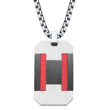 Inox White Stainless Steel Pendant