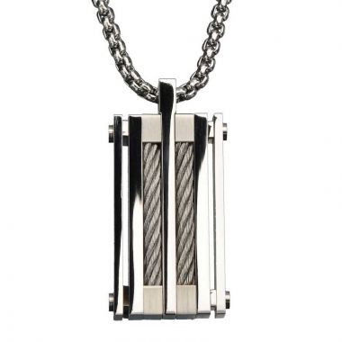 Inox Black Stainless Steel Pendant